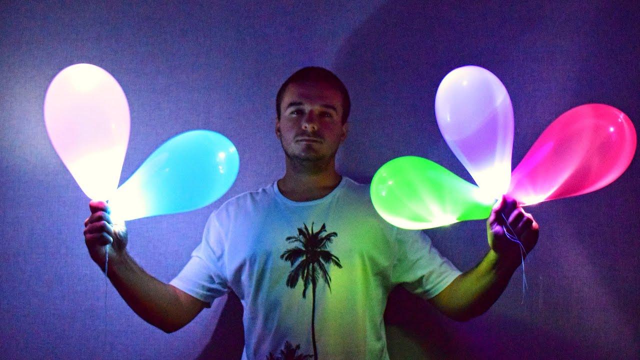 Светящиеся воздушные шары. Как сделать своими руками 973