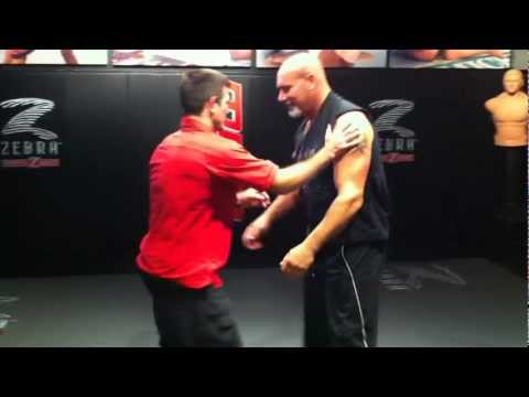 GOLDBERG getting tossed by US Olympic Judo expert Jimmy Pedro! Image 1