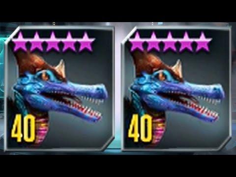 METRIALONG MAX LEVEL 40 - NEW HYBRID Jurassic World The Game