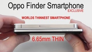 Oppo Finder - World's Thinnest Smartphone - Unboxing