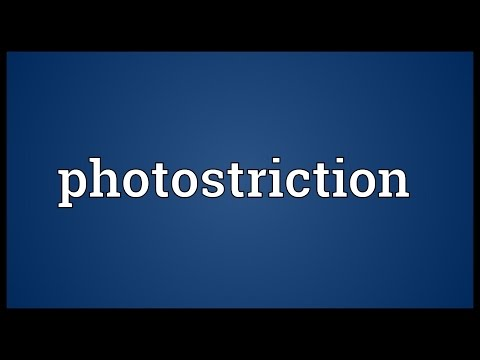 Header of Photostriction
