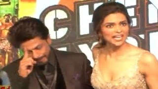 Shahrukh Khan Gets Angry at Chennai Express Music Launch