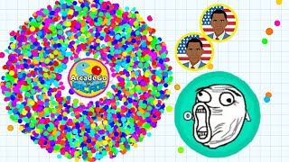 Agario - Experimental The Best Mode Gameplay (Funny Moments)