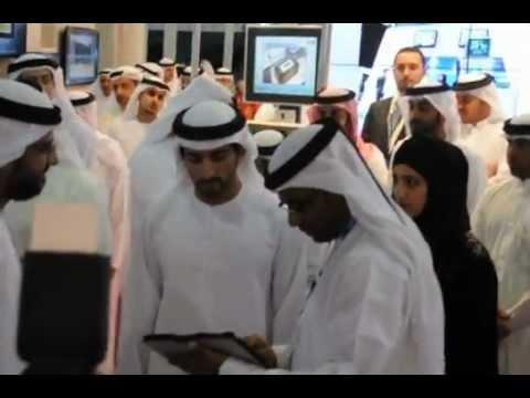 H.H Sheikh Hamdan bin Mohammed bin Rashid al Maktoum Visit to eVento stand