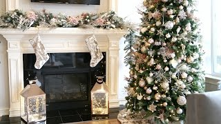 DECORATE WITH ME! DIY CHRISTMAS GARLAND   ALEX GARZA