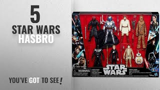 Top 10 Star Wars Hasbro [2018]: Star Wars Saga Action Figure 8 Pack with Darth Maul