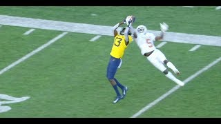 Texas' D'Shawn Jamison Makes Ridiculous One-Handed Interception