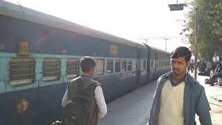 13008 Udyan Abha Toofan Express on Faridabad station