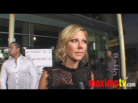 Desi Lydic Interview at STAN HELSING Premiere