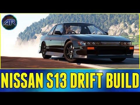 Forza Horizon 2 : Nissan S13 Drift Build!!! (dock Drifting, 1080p) video