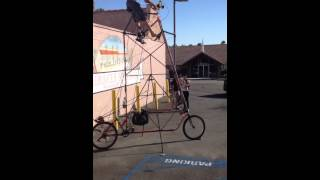 Tallest bike in the world. (Share)