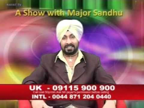 A Show With Major Sandhu - Mr Toor