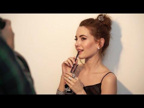 Making of maquillaje Ivana Baquero