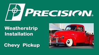1947-1953 Chevy Truck Windshield Weatherstrip Installation