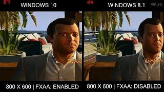 WINDOWS 10 vs 8.1 : GTA 5 (V) [GAMING PERFORMANCE] [SKIP TO 1:57]