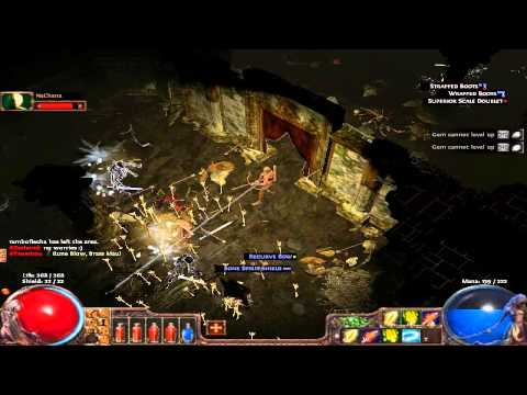 Path of Exile - Jogando com os Cumpadreeessss & Gritinho de Moa do Cumpadre 