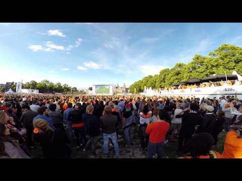 Netherlands vs Australia 3-2 Museumplein