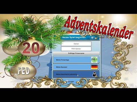 Adventskalender #20 Mad Games Tycoon neue Spiele programmieren #Let's Play #Weihnachten #Advent #HD