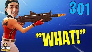 HEAVY SHOTGUN NOW DOES 300+ DAMAGE! *OP* - Fortnite Moments #137