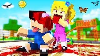 Minecraft Kindergarten - MY GIRLFRIEND BIT MY HEAD OFF!