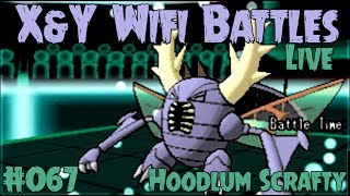 Pokemon X and Y Wifi Battle #067 (FaceCam Live) Vs. HoodlumScrafty - The Janitor Lost It