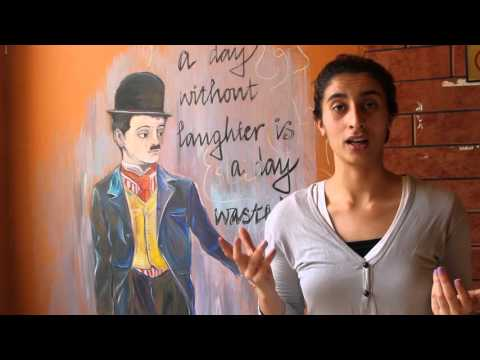 The Freedom Theatre School student Samah talks about the Freedom Jatha