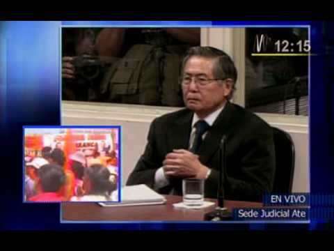 Ex presidente Alberto Fujimori es sentenciado a 25 años de cárcel (07-04-2009)