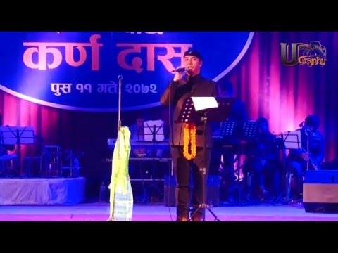 SINGER KARNA DAS II A SOLE PROFERMANCE AFTR 1O YEARS IN NEPAL