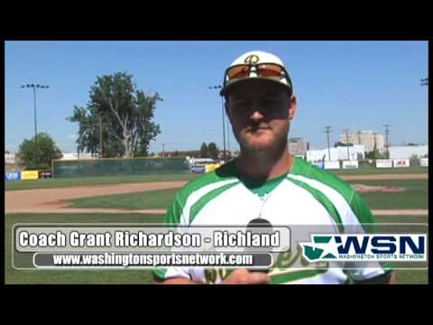 Grant Richardson - Richland Baseball - Postseason '13