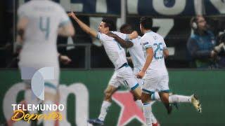 Chucky Lozano le devuelve favor al coreano Son en Champions League | Telemundo Deportes