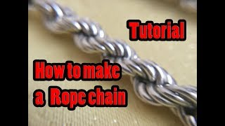 How to make a rope chain tutorial (part 1)