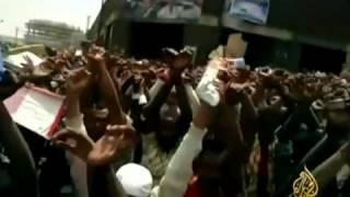 Allahu akber Aljezera arebic be 50 kefelehageroch teqawumo mederegun zegebe