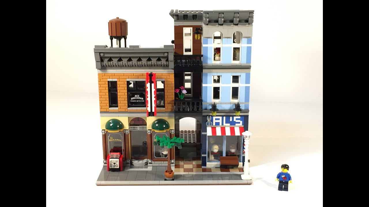 Lego Modular 10246 Detective's