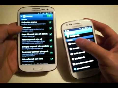 Samsung galaxy s3 iphone 4s dusme testi