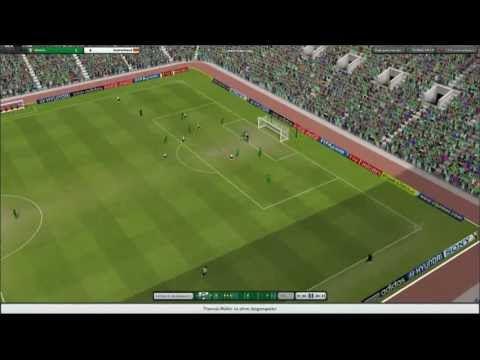 Lan Football manager 2013 - CSKA vs OLYMPIAKOS gameplay