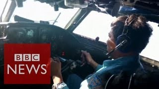 Malaysia (Airlines) plane missing: How do aircraft vanish? BBC News  3/10/14