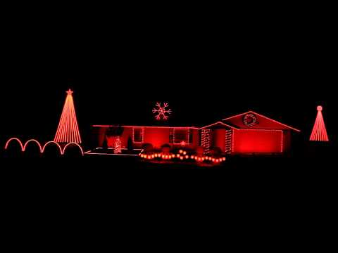 Thunderstruck by AC/DC  2017 Christmas Light Show Display