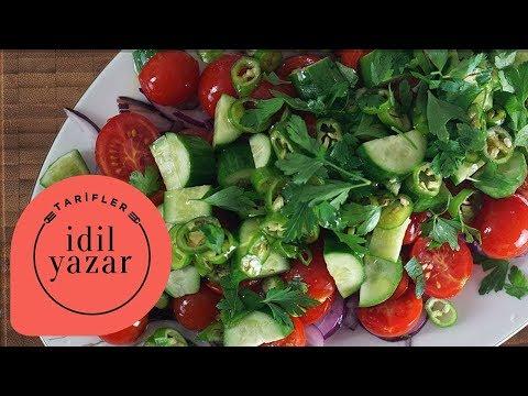 Çoban Salata Nasıl Yapılır ? - İdil Tatari - Yemek Tarifleri