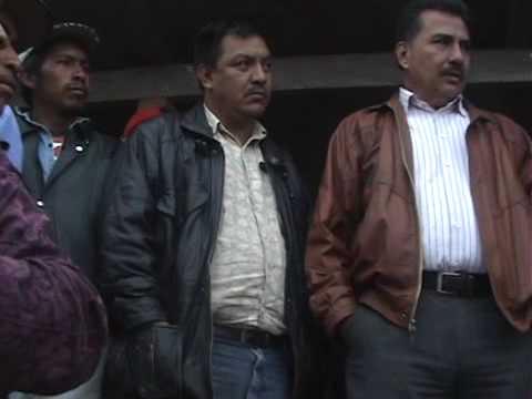 1o. Presencia de empresas mineras en Vivitz - Nebaj - Quiché