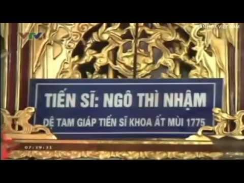 Ngô Thì Nhậm - vị đại học sĩ của vua Quang Trung