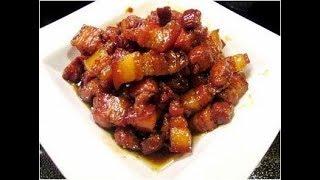 Cách làm món thịt ba chỉ kho ngon như ngoài hàng!