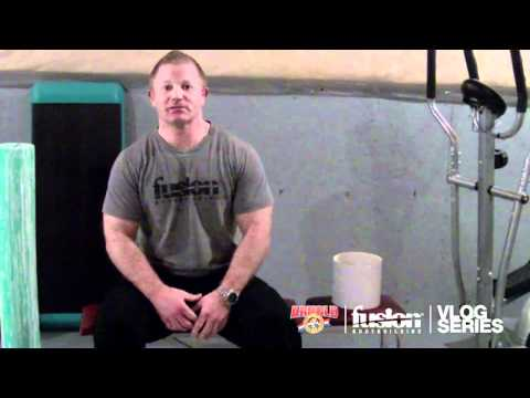 BARRY ANTONIOW VLOG SERIES EPISODE #4: 2 WEEKS OUT FROM THE 2012 ARNOLD CLASSIC