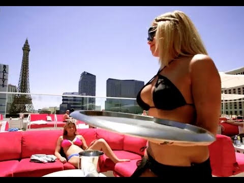 Cool magic trick at Drai's Beach Club by Mat Franco