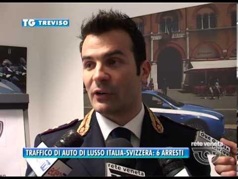 21/03/2014-TRAFFICO DI AUTO DI LUSSO ITALIA-SVIZZERA: 6 ARRESTI