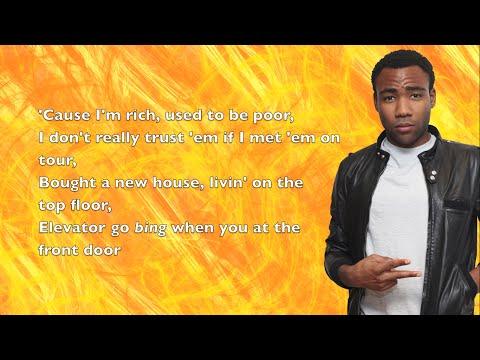 Young Dro - FDB Remix (ft. Childish Gambino) - Lyrics