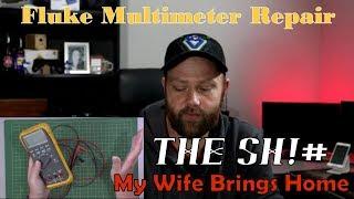 The Sh!# My Wife Brings Home - Fluke Multimeter Repair #2