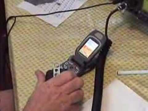 Using Cell Phone as Voice Keyer in Amateur radio