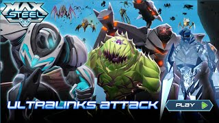 I.G. Max Steel Ultra Links Attack Part 7: RUNNING GLITCH + CHOMP LINK ROUND 1