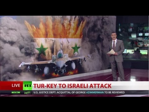 Israel Used Turkish Military Base To Airstrike Syria Arms Depot - Rt Source video