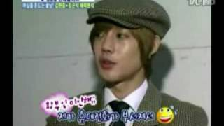 hyun joong backstage interview about wgm and hwang bo